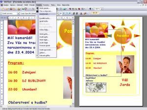 Textový editor 602Text - náhled