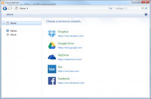 Cloud Explorer 1.0.6 - náhled