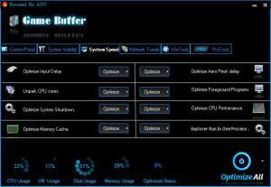 Game Buffer 1.0 - náhled