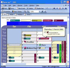 YearPlanner 2.5.8 - náhled