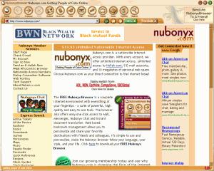 Nubonyx Browser 2.0 - náhled