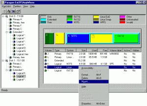 Ext2FS Anywhere 3.0 - náhled