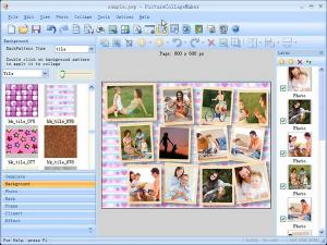 Picture Collage Maker EXE 4.1.2 - náhled