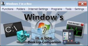 Windows 7 in a Box 1.0 - náhled