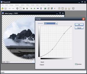 SunlitGreen Photo Editor 3.1 - náhled