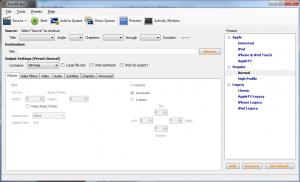 HandBrake 1.0.7 - náhled