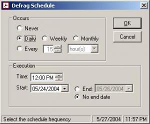Defrag Timer 1.1 - náhled