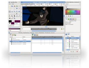 Synfig Studio 1.2.1 - náhled