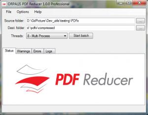 PDF Reducer 2.0.2 - náhled