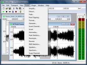 WaveShop 1.0.13.000 - náhled