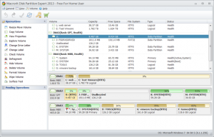 Macrorit Disk Partition Expert Portable 4.3.0 - náhled