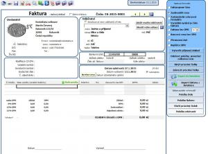 Tvorba cenové nabídky a fakturace 1.1.5 - náhled