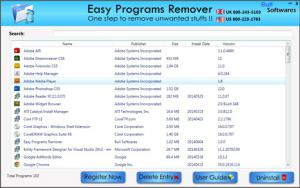Easy Programs Remover 2.0 - náhled