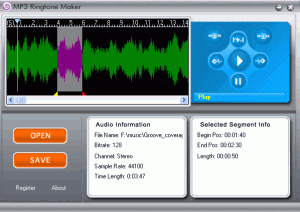 MP3 Ringtone Maker 1.2 - náhled