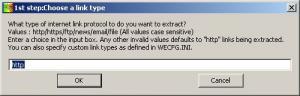 Mcky's Web Extractor 1.35 - náhled