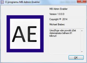 MB Admin Enabler 1.0 - náhled