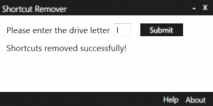 Shortcut Remover 1.0 - náhled