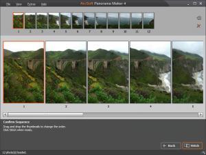 ArcSoft Panorama Maker 6 - náhled