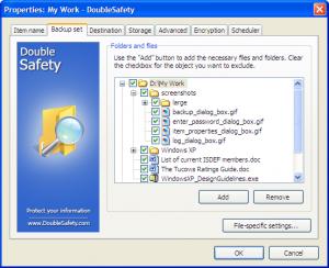 DoubleSafety 4.1 - náhled
