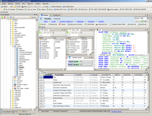 DatAdmin 5.4.2 - náhled