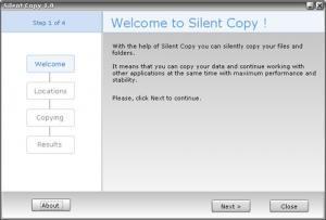 Silent Copy 1.0 - náhled