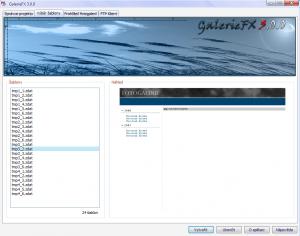 GalerieFX 3.0.0 - náhled