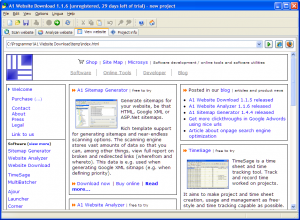 A1 Website Download 4.0.3 - náhled