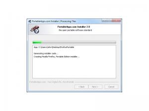 PortableApps.com Installer 3.0.3 - náhled