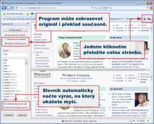 Překladač Eurotran XP 3.0 - náhled