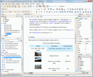 Oxygen XML Editor 12.2 - náhled