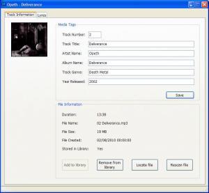 M-Player 0.3.8 - náhled