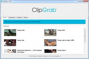 ClipGrab 3.6.1 - náhled