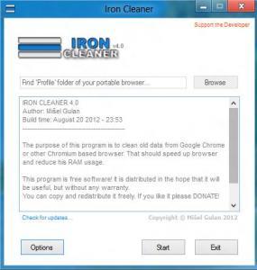 IronCleaner 4.1 - náhled