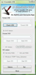 A Bootable USB 0.9.0.4 - náhled
