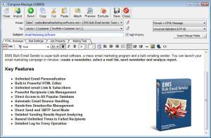 EMS Bulk Email Sender 3.7.1.8 - náhled