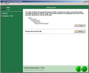 MiTeC Internet History Browser 2.1.0.0 - náhled