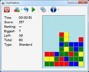 ClickTheBrick .NET 1.0 - náhled