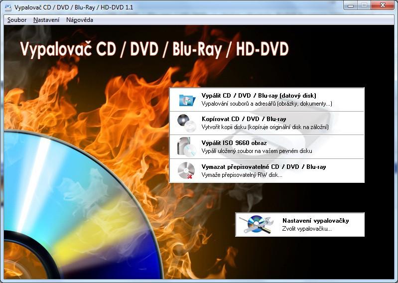 Vypalovač CD / DVD / Blu-ray / HD-DVD 1.3 - Plná licence - 1 licence