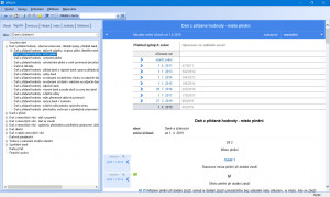 WINLEX: Rejstřík témat k vyhledání právní oblasti - náhled