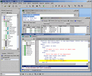 PL/SQL Developer 12 - náhled