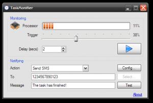 TaskMonifier - náhled