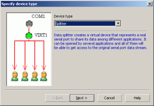 Free Virtual Serial Ports Emulator 0.937 - náhled