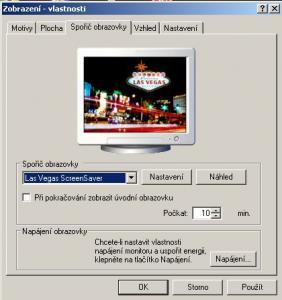 Las Vegas ScreenSaver - náhled