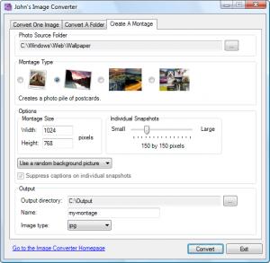John´s Image Converter 2.1 - náhled