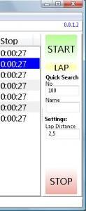 Race Timer 2.0.13.21 - náhled