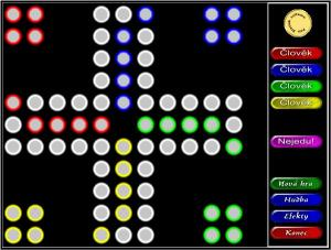 Herní plocha programu - náhled