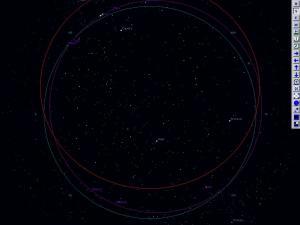 Hvězdná obloha - náhled