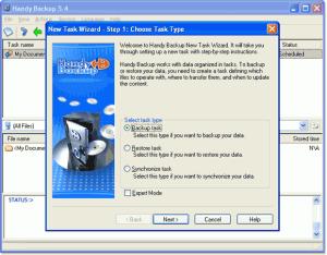 Handy Backup 7.8.4 - náhled