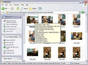 Microsoft RAW Image Thumbnailer and Viewer for Windows XP 1.0 - náhled