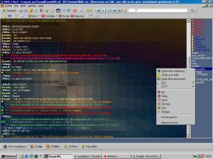 Visual IRC 2.0 - náhled